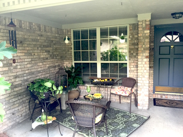 Pier1 Imports After Patio How I Transformed My Dark Front With Pier 1