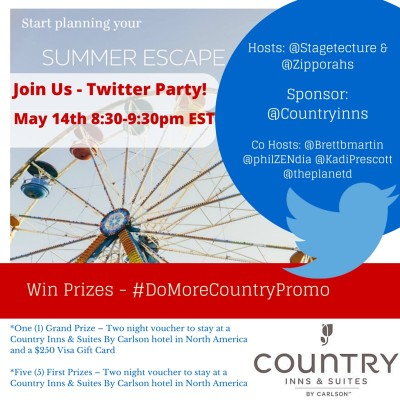 Celebrate Summer – #DoMoreCountryPromo Twitter Party