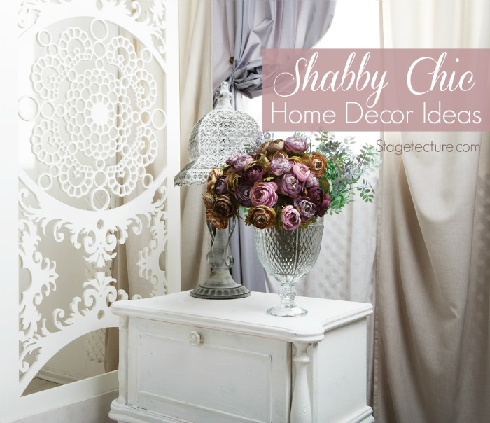 Shabby chic home decor discount