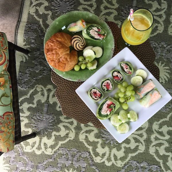 Pier 1 Imports Garden Party_Food Table