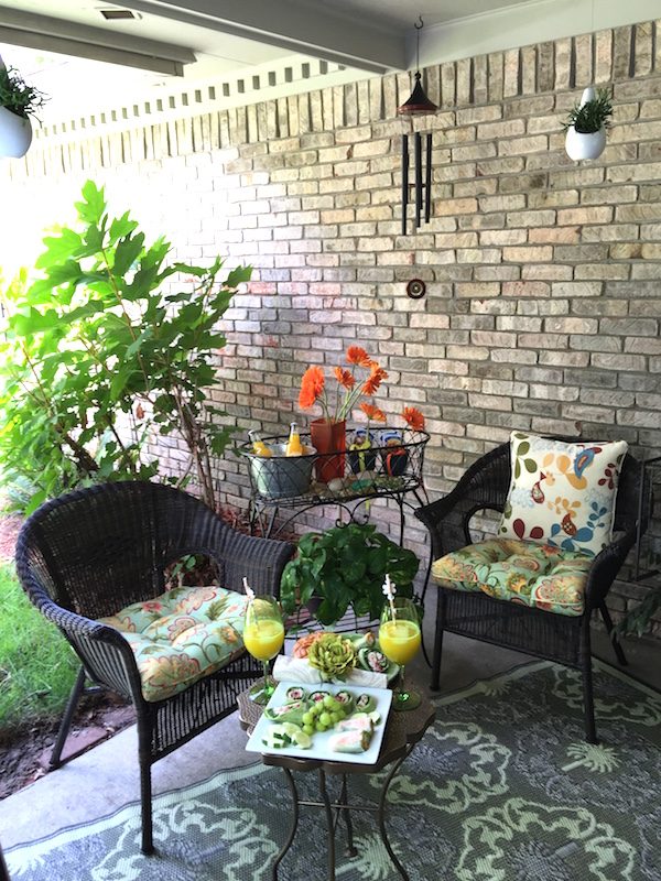 Throwing A Garden Party In My Outdoor Patio With Pier 1 Imports