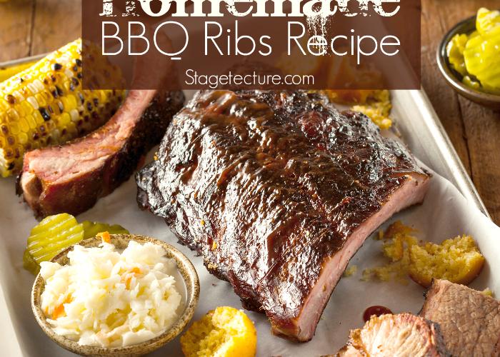 How to Make Homemade BBQ Ribs Recipe
