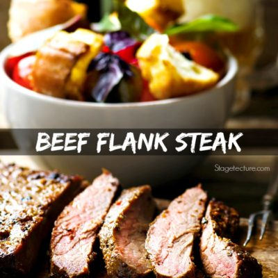 Fathers Day BBQ: Beef Flank Steak Recipe