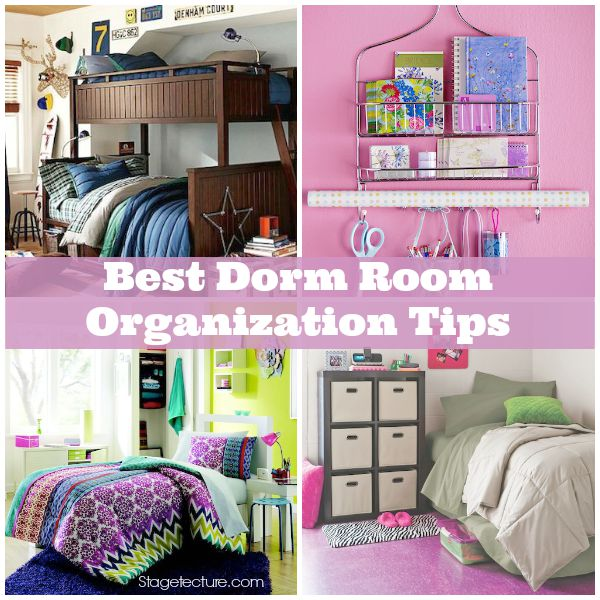 Stagetecture_Dorm Room Organization Tips