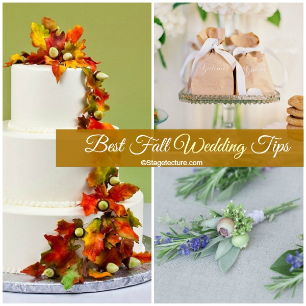 Stagetcture Best Fall Wedding Tips
