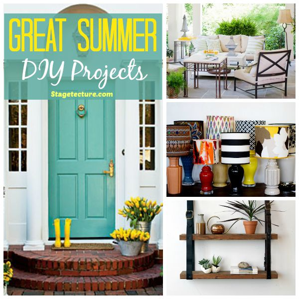 Round Up Ideas: Great Summer DIY Projects