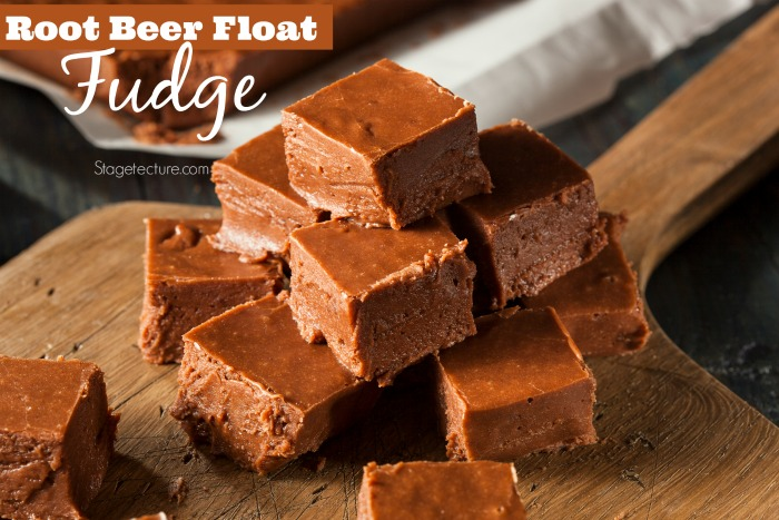 Root Beer Float Chocolate Fudge Recipe