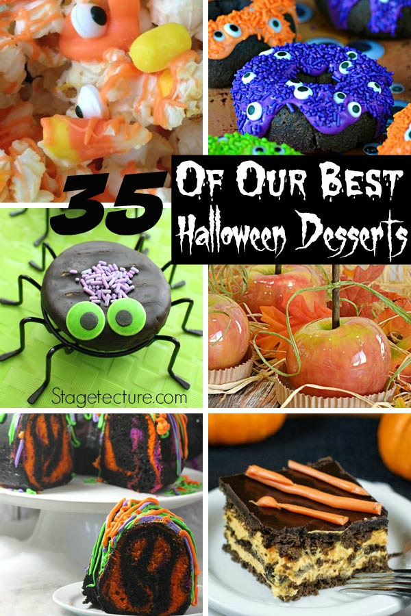 Best Halloween Desserts Recipes