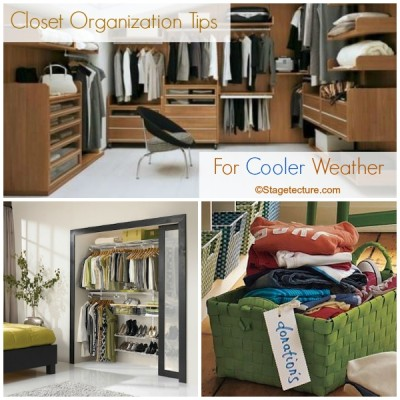 .Round Up Ideas: Closet Organization Tips for Cooler Weather