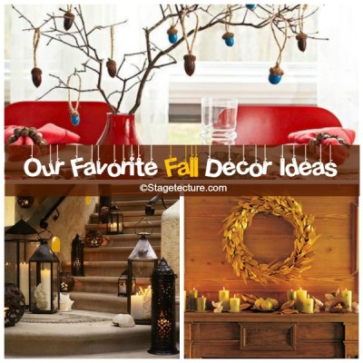 Round Up Ideas: Our Favorite Fall Decor Ideas