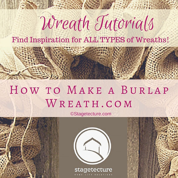 Stagetecture Launches New DIY Wreath Ideas Site!
