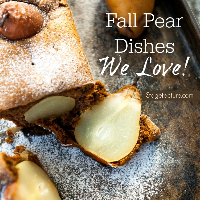 fall pear recipes