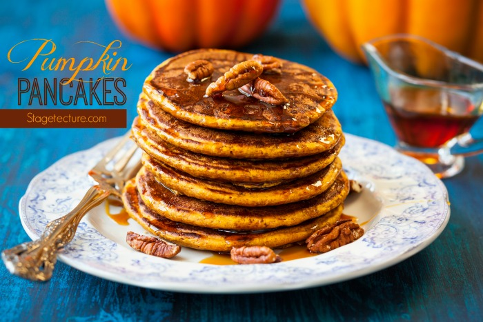 fall brunch recipes pumpkin pancakes