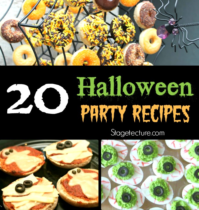 20 halloween party dessert and recipes