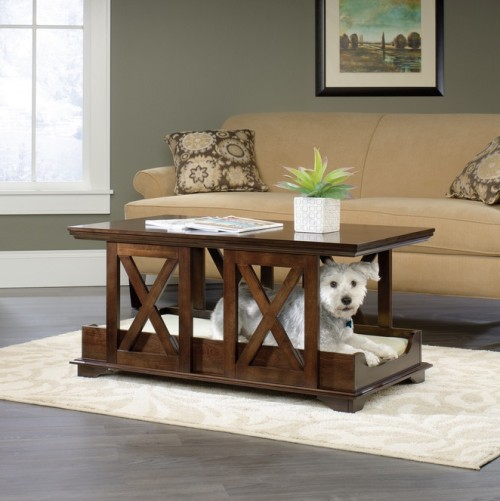 Coffee Table Pet Bed Furniture