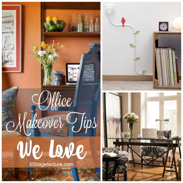 Round Up Ideas: Office Makeover Tips We Love