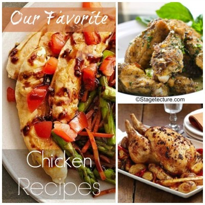 Recipe Round Up: Our Favorite Chicken Recipes
