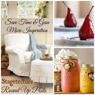 Stagetecture's Round Up Posts – Save Time: More Inspiration