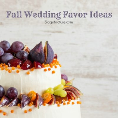 Perfect Fall Wedding Favor Ideas