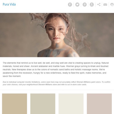 How to Use Pale Trending Colors of the Year in your Home