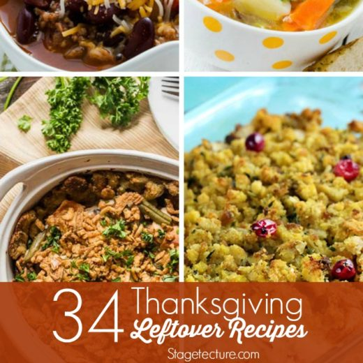 34 Favorite Thanksgiving Leftover Ideas
