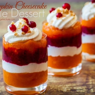 Thanksgiving Dessert: Pumpkin Cheesecake Trifle Recipe