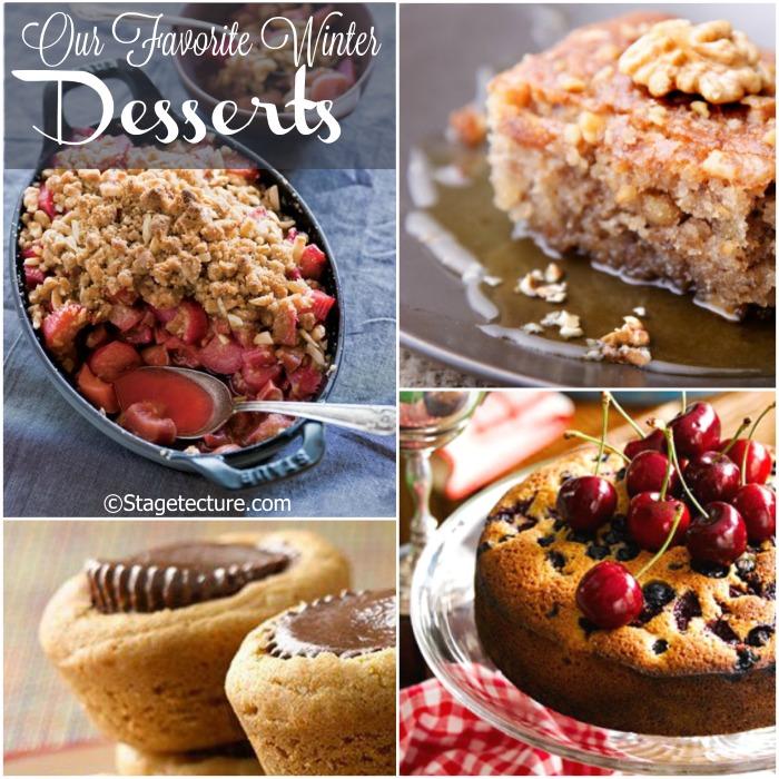 Stagetecture Best Winter Desserts Round Up