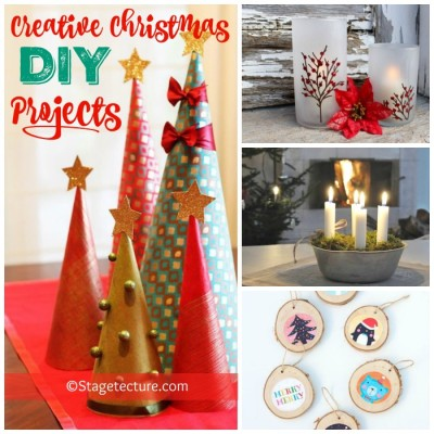 .Round Up Ideas: Creative Christmas DIY Projects
