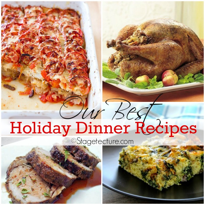 Stagetecture_Best Holiday Dinner Recipes