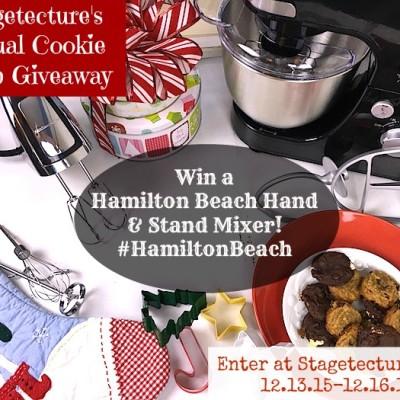Win a #HamiltonBeach Stand & Hand Mixer Giveaway