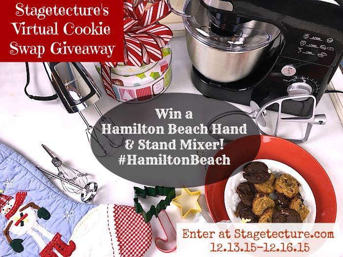 Stagetecture_HamiltonBeach Cookie Swap Mixer Giveaway