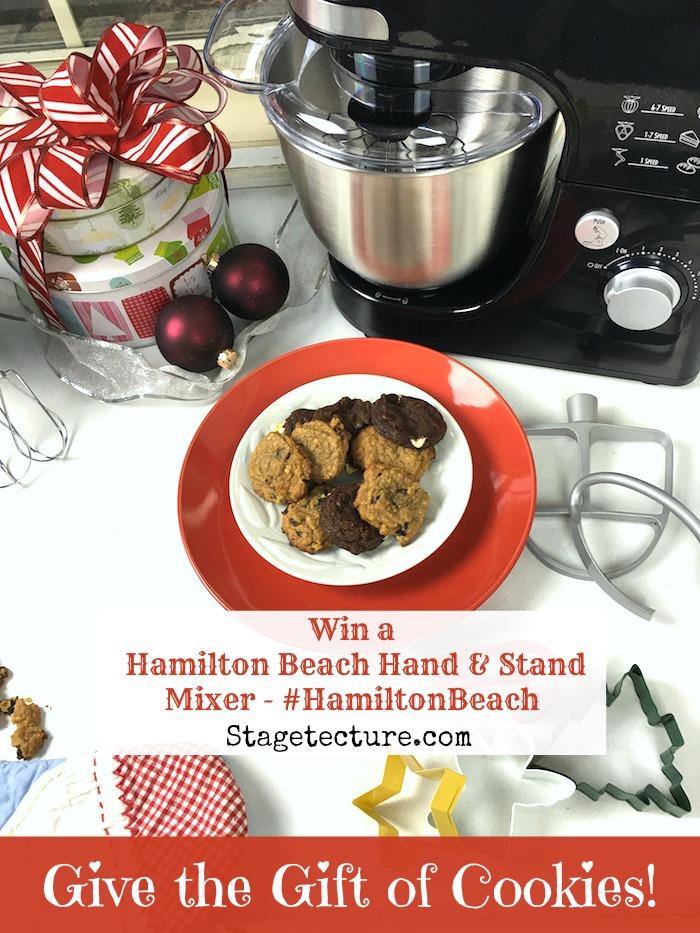 Stagetecture_HamiltonBeach Cookie Swap Mixer Giveaway2