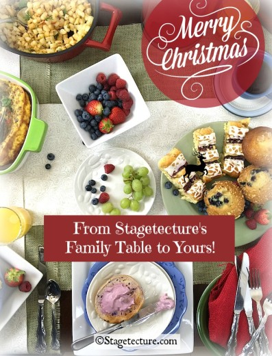 There's Room at Stagetecture's Holiday Family Table!
