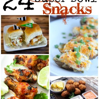 24 Party Food Ideas and Super Bowl Snacks