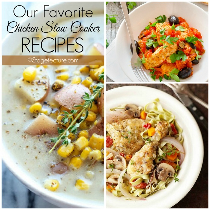 Chicken Slow Cooker Recipes Roundup