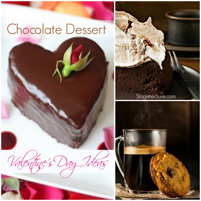 Chocolate desserts valentines ideas