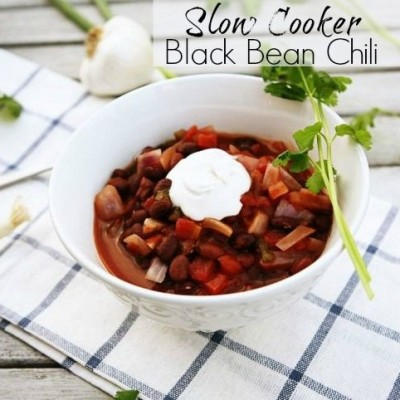 Slow Cooker Recipe: Black Bean Chipotle Chili