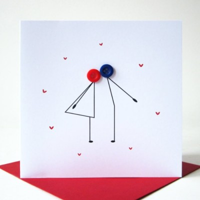 Simple Valentines Day Ideas: Custom Card Making