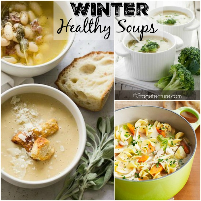 Winter Healthy Soups Stagetecture