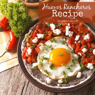 .Perfect Mexican Breakfast: Huevos Rancheros Recipe
