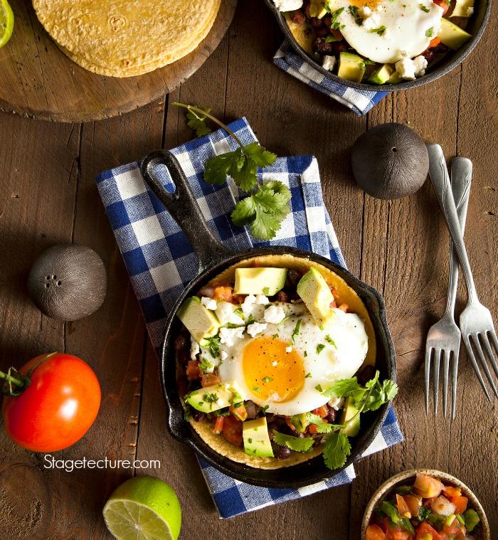 Huevos Rancheros breakfast recipe