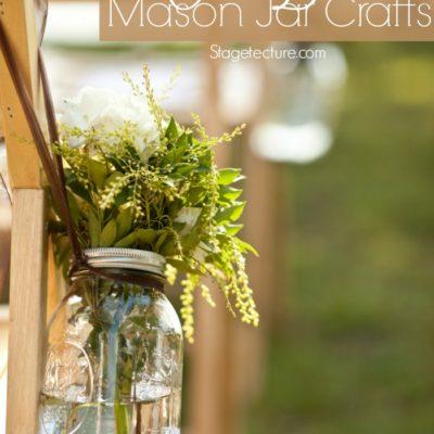 Mason Jar Crafts: DIY Mason Jar Ideas