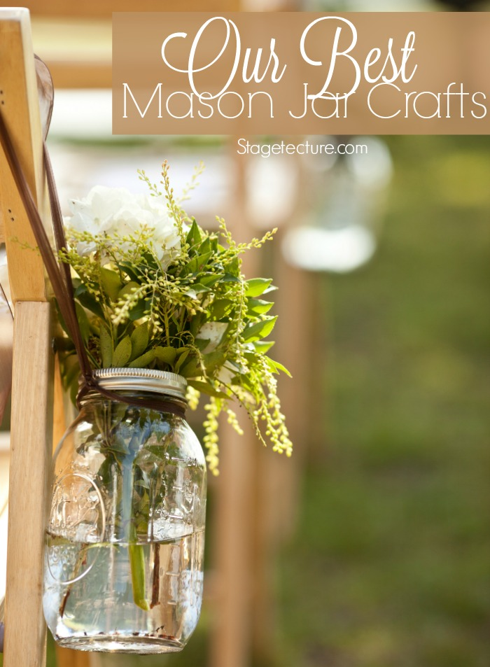 Mason Jar Crafts Diy Mason Jar Ideas