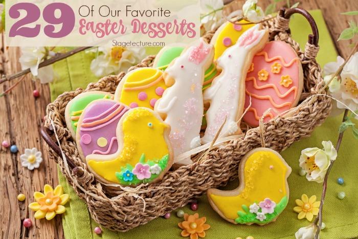 favorite easter desserts ideas