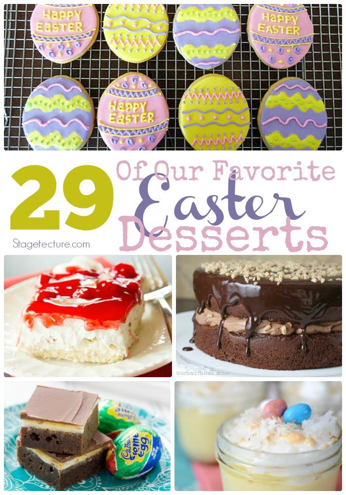 favorite easter desserts recipes