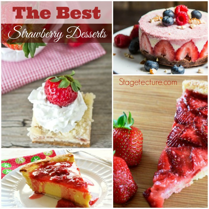 best strawberry desserts