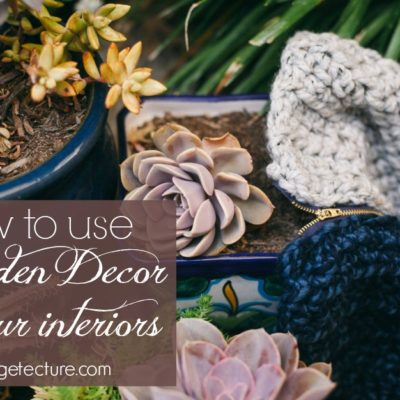 How to Beautify your Home with Garden Decor