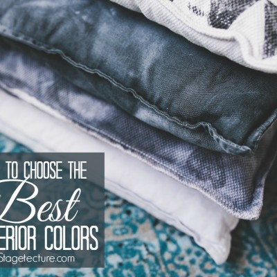 How to Choose the Best Interior Colors