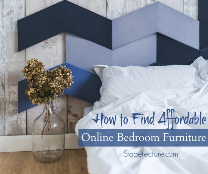 Affordable online bedroom furniture
