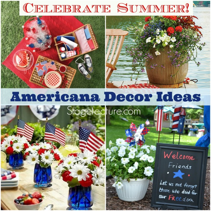 How to Celebrate Memorial Weekend with Americana Decor -
